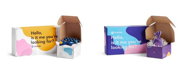 pudełka z nadrukiem kolorowym