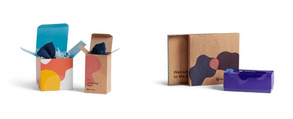 pudełka kartonowe z nadrukiem