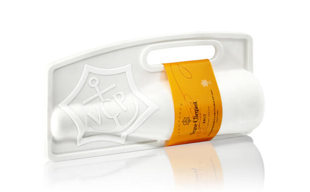 veuve clicquot biodegradable packaging