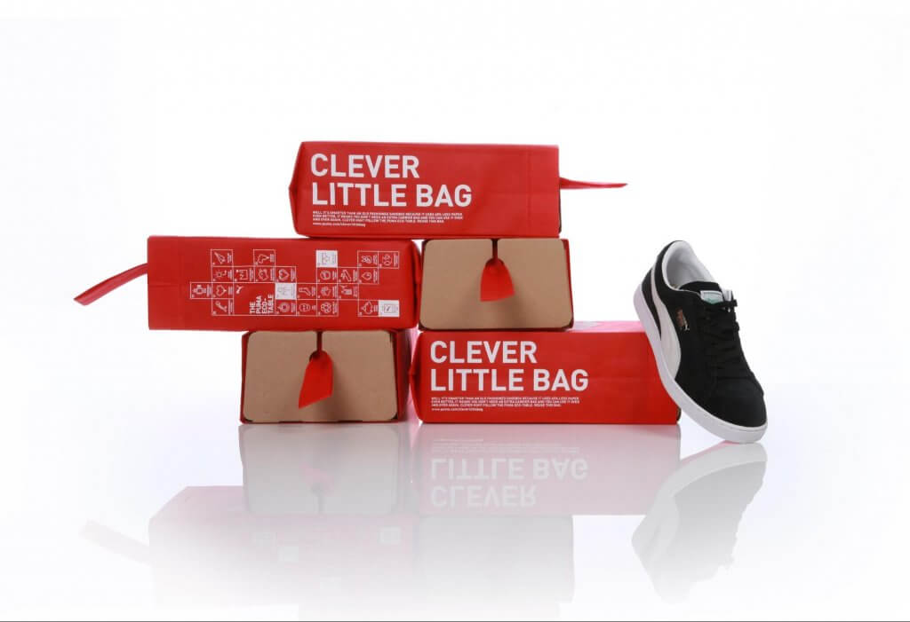 puma recycled packaging example