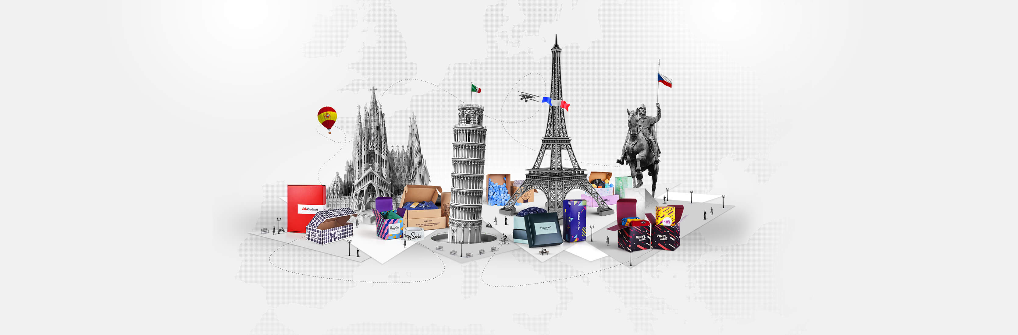 Packhelp now available in Spanish, Italian, French and Czech
