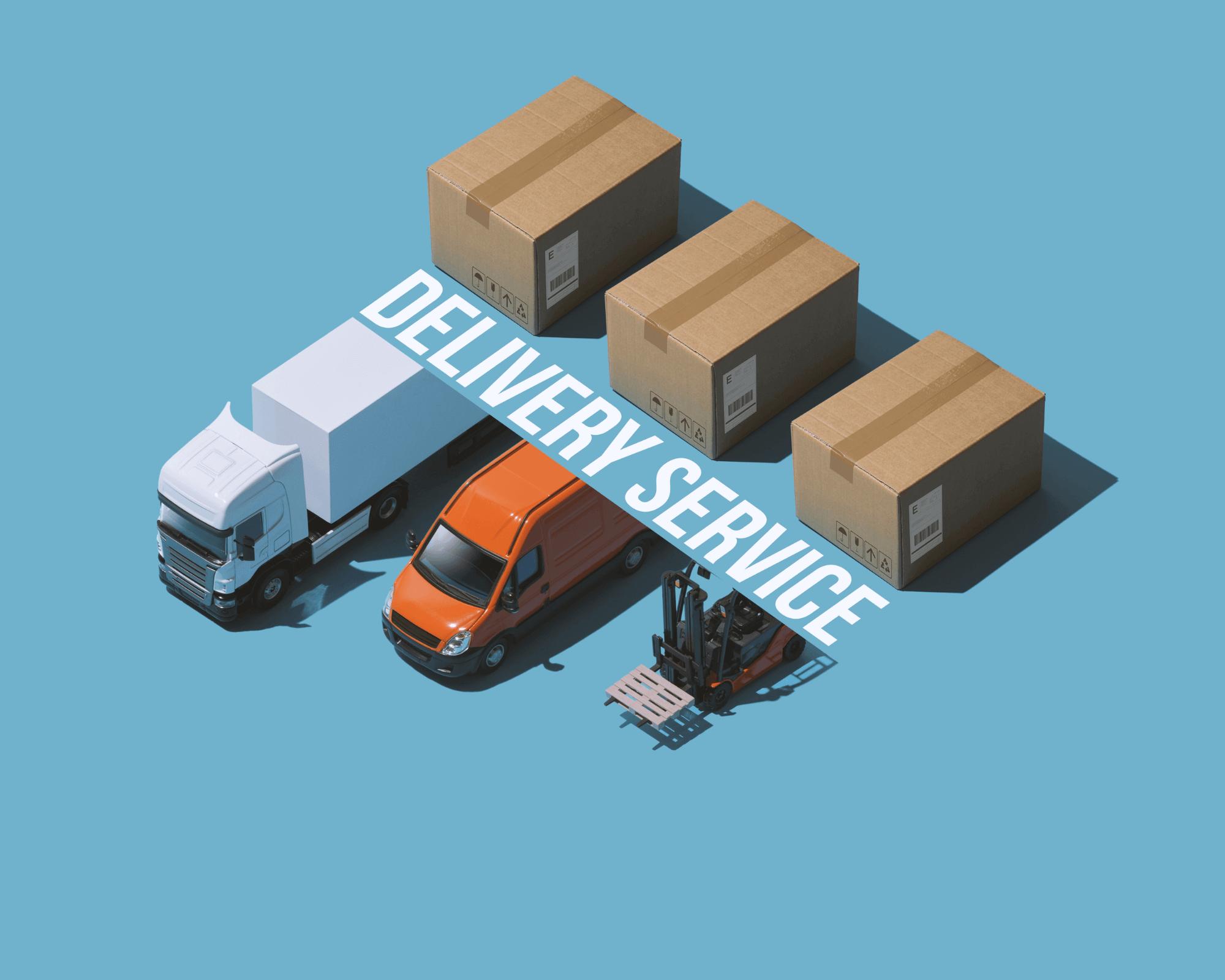 Varios medios de transporte para realizar envíos internacionales