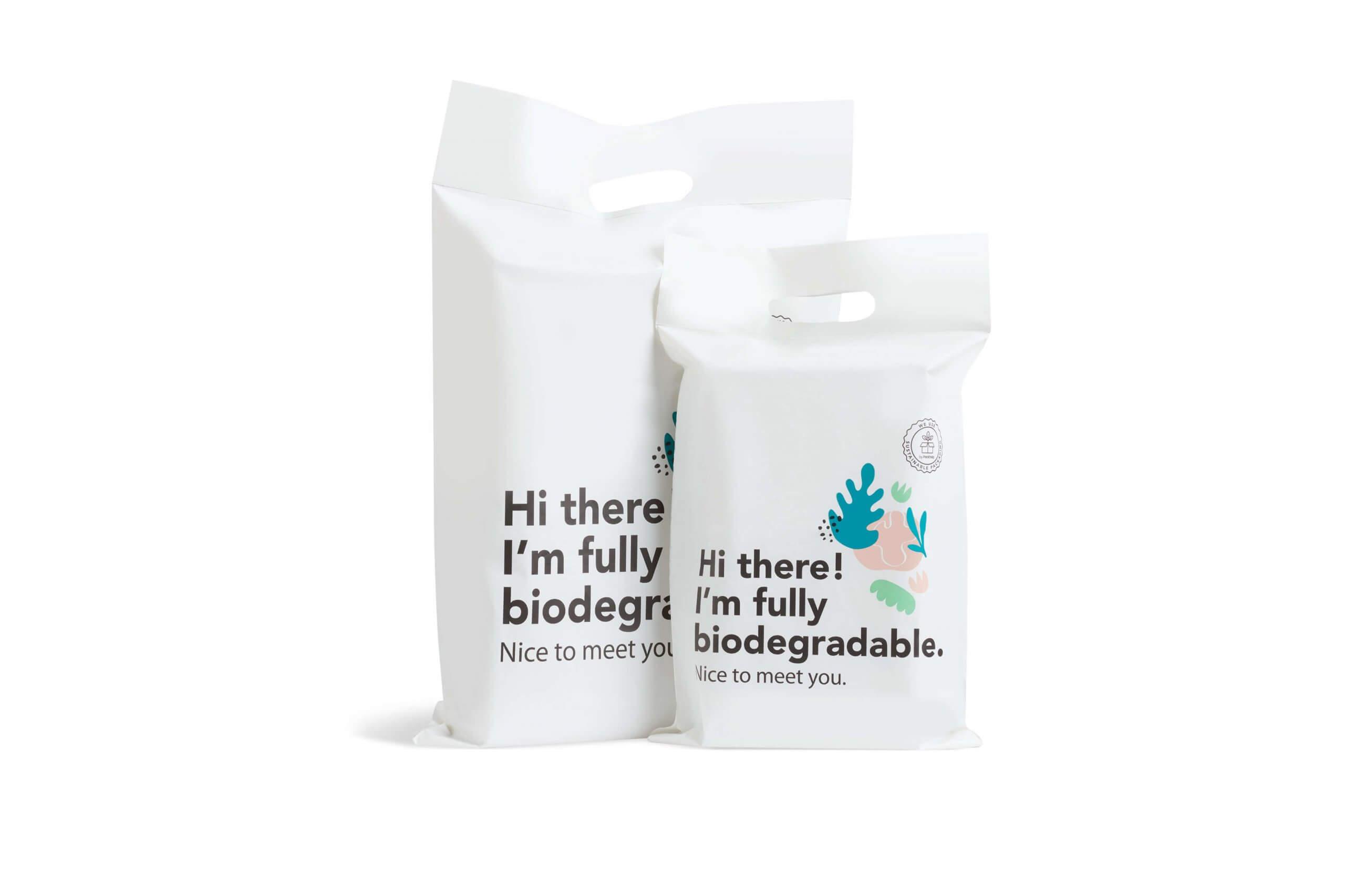 Bolsas compostables para realizar envíos internacionales