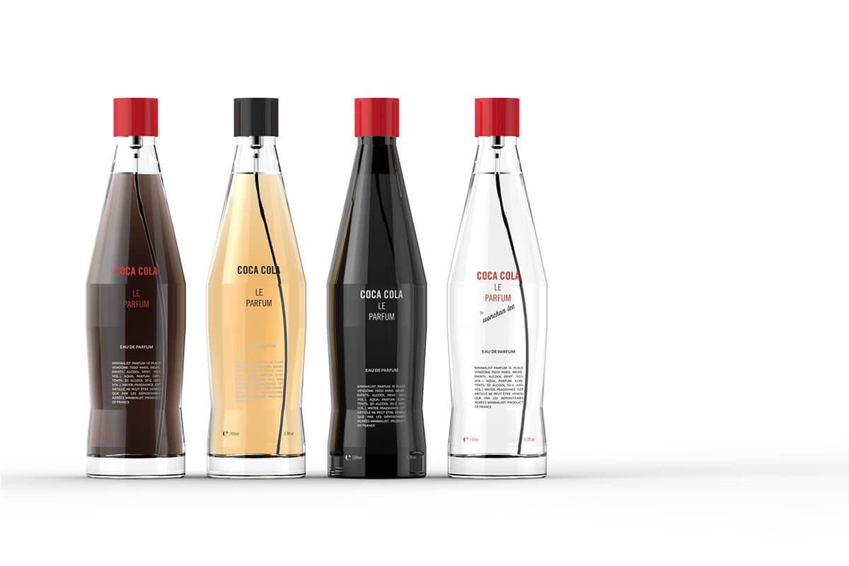 coca cola perfume inspiration packhelp