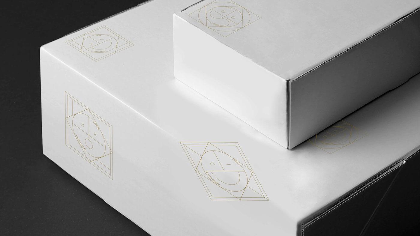 las cajas blancas son tendencia dentro de la psicología del color