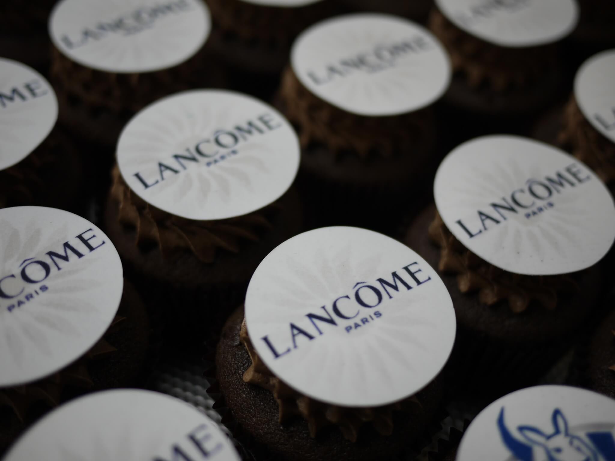 branded cupcakes lancome