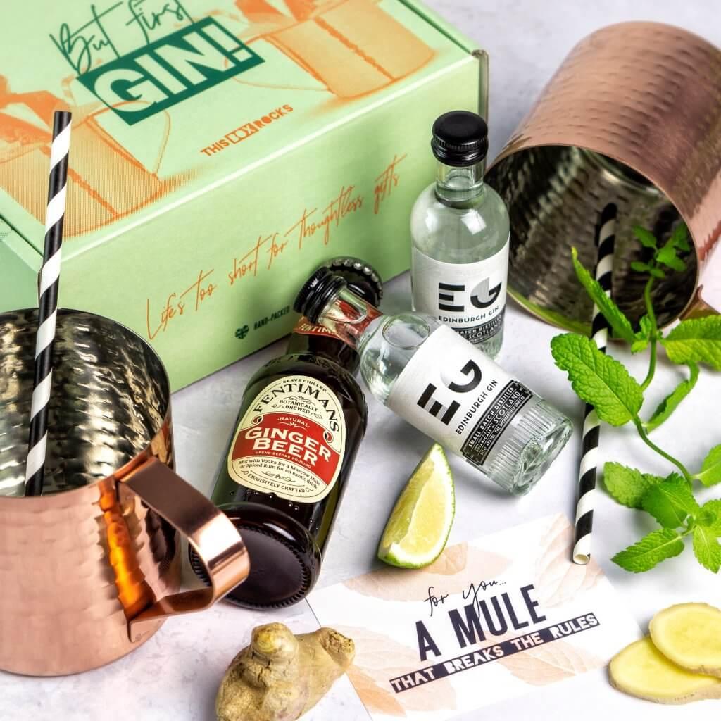 Geschenkverpackug für Gin