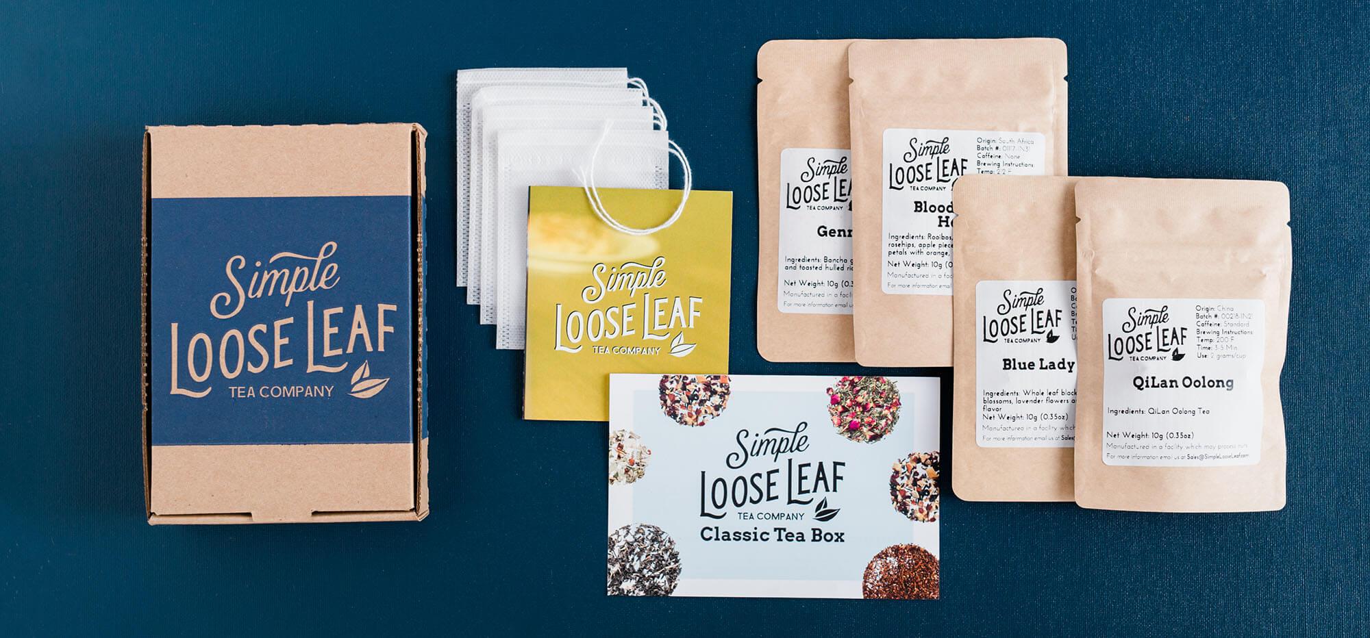simple loose leaf company packhelp post cardboard box