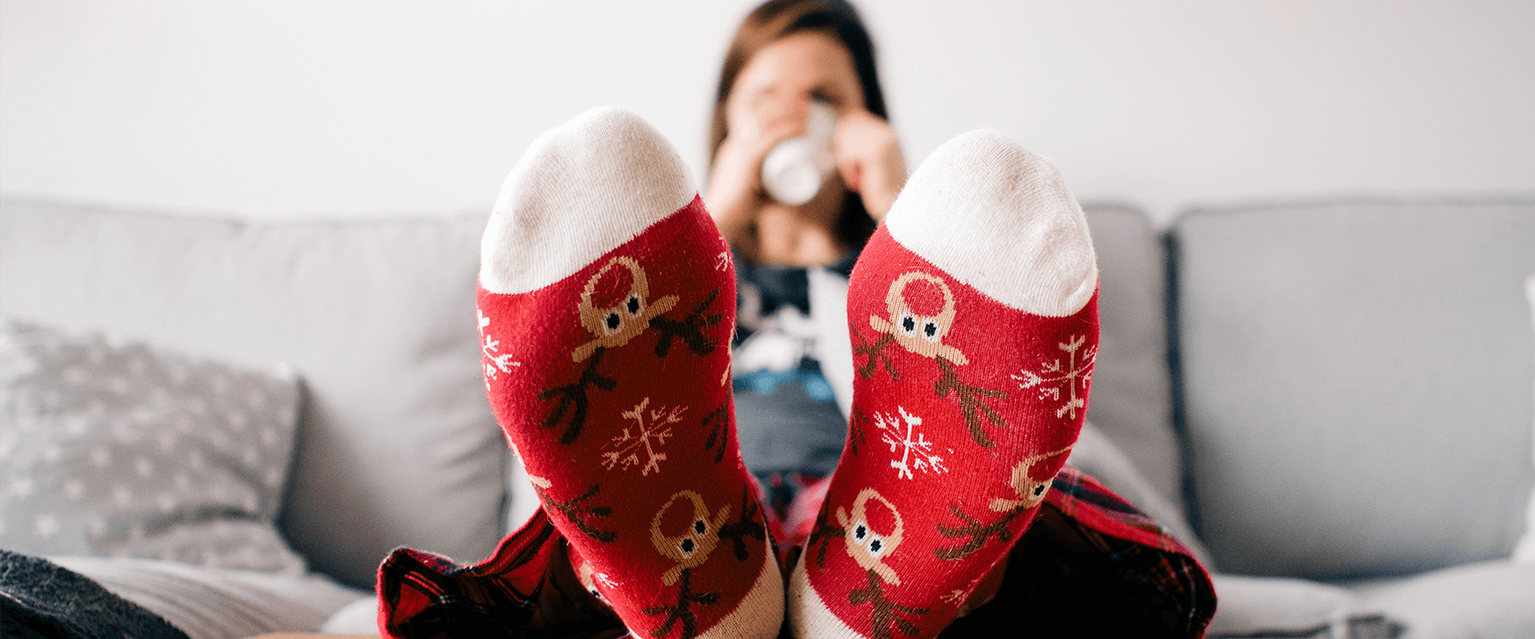 Chaussettes de Noël Happy Socks