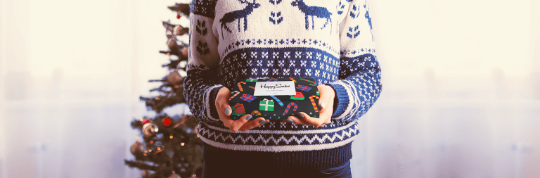 Natale sta arrivando! Shop Talk con Happy Socks