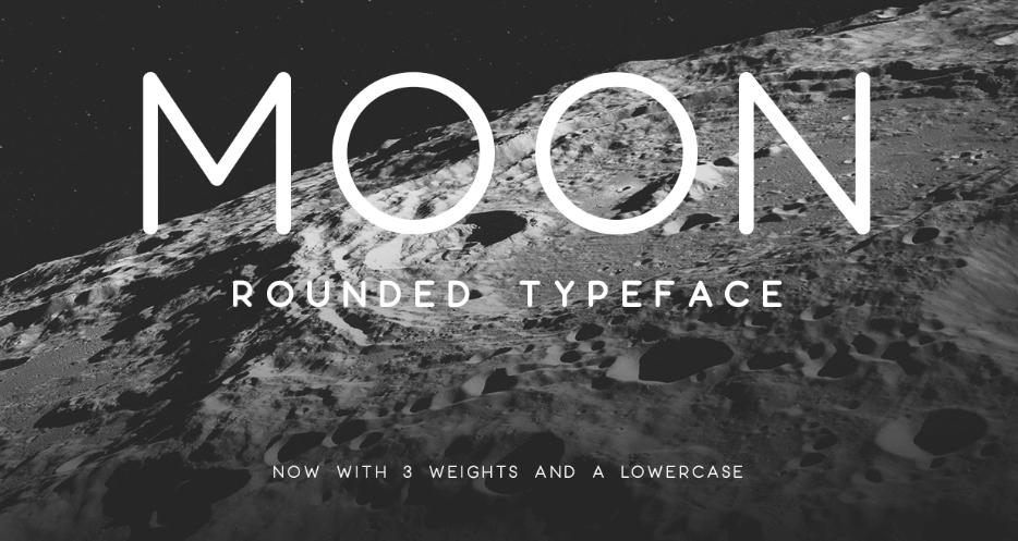 Moon es una de las tipografías para packaging más populares entre los diseñadores gráficos