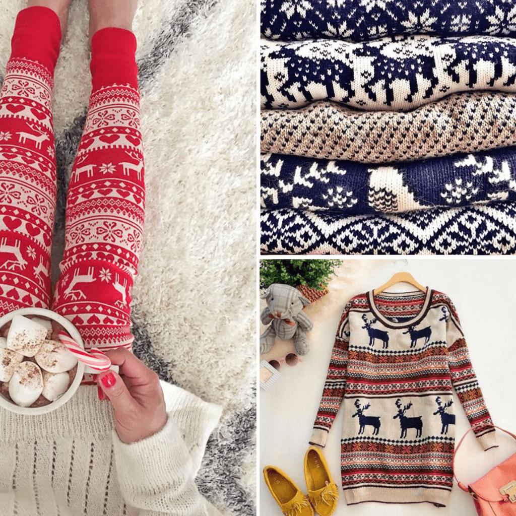 Pulls de style scandinave, une bonne idée pour un emballage de Noël