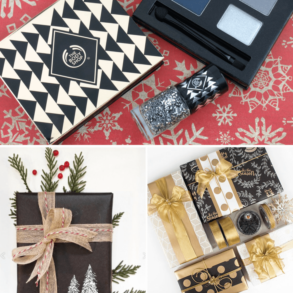 gift packaging with logo