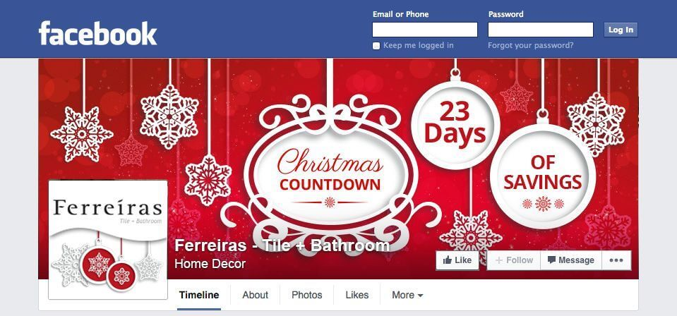 social media marketing christmas