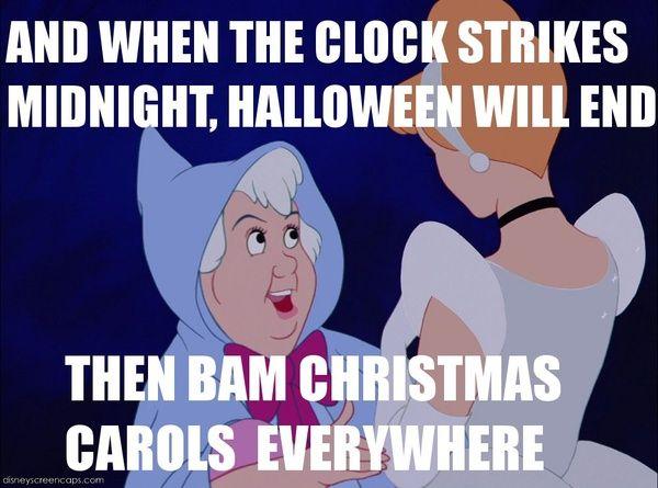Meme sur l'enchaînement d'Halloween et Noël