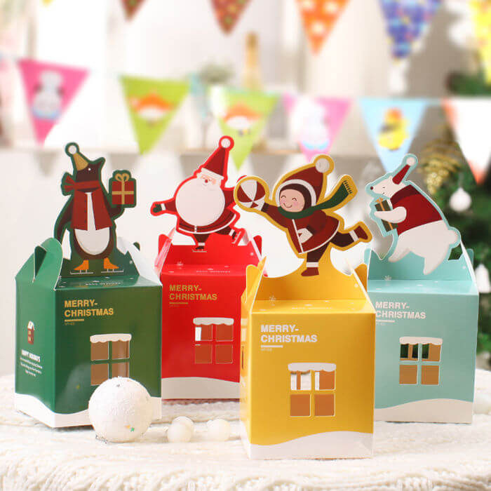 Emballage cadeau Noël sur mesure