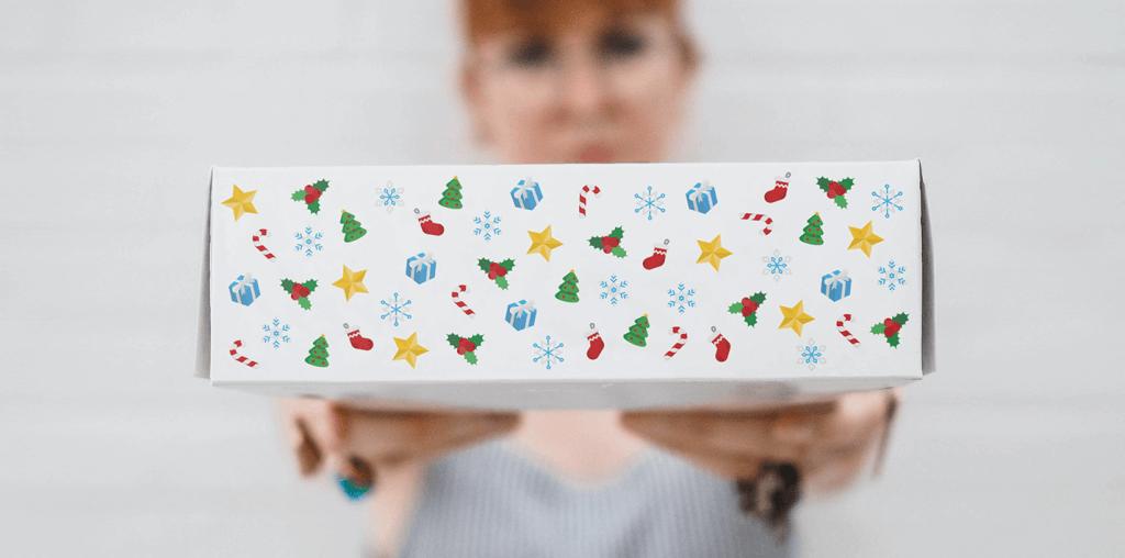 Natale 2021 scatola personalizzata
