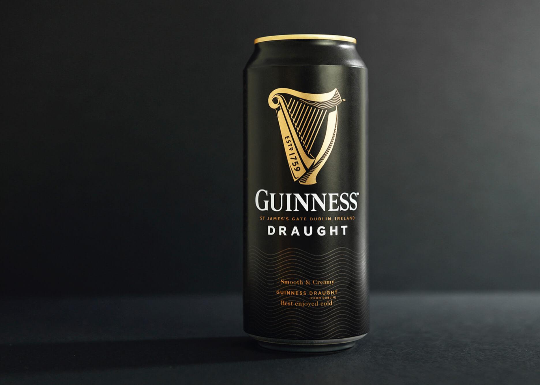 Canette de bière Guinness noire