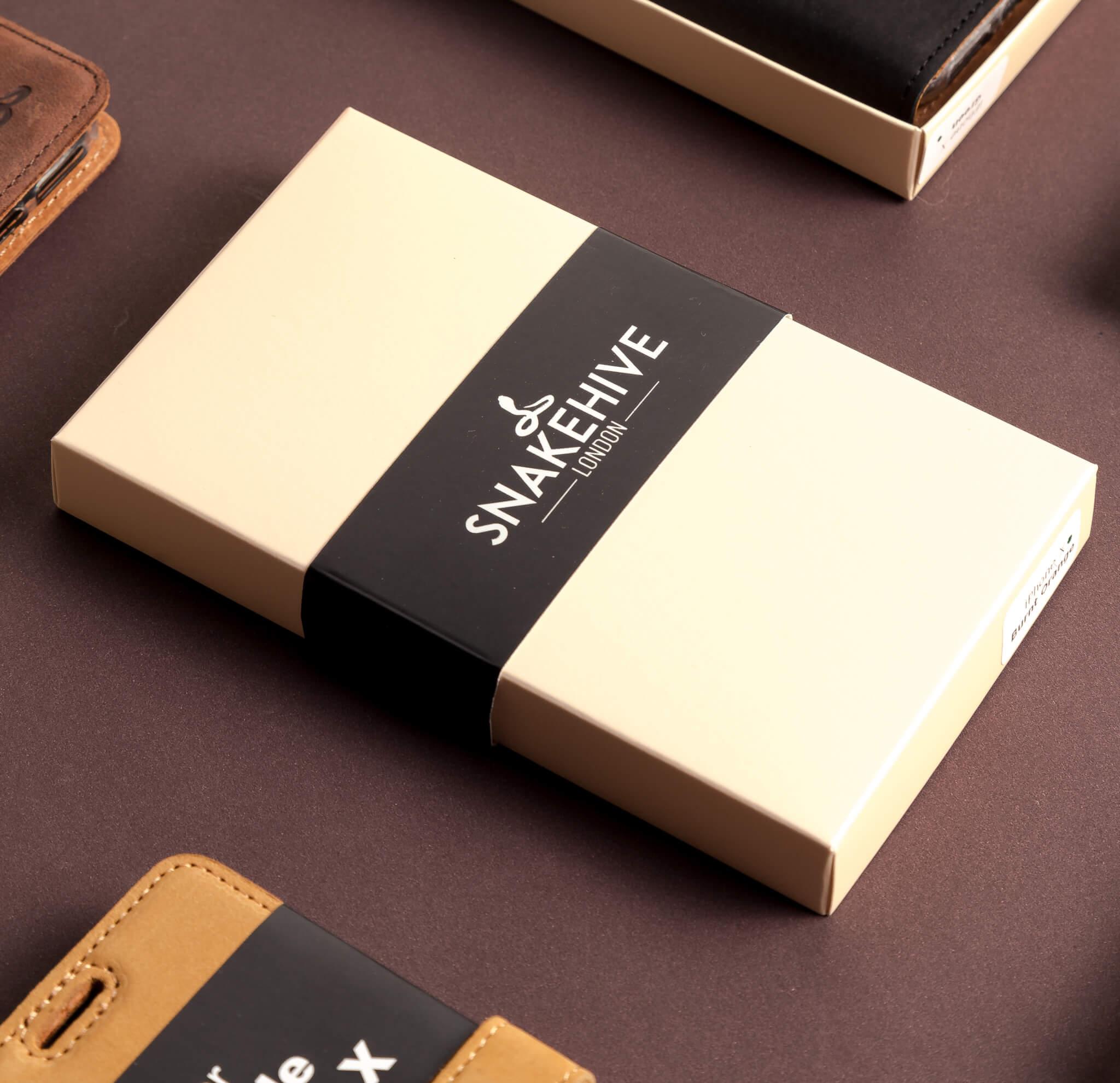 Imballaggi personalizzati Snakehive scatole