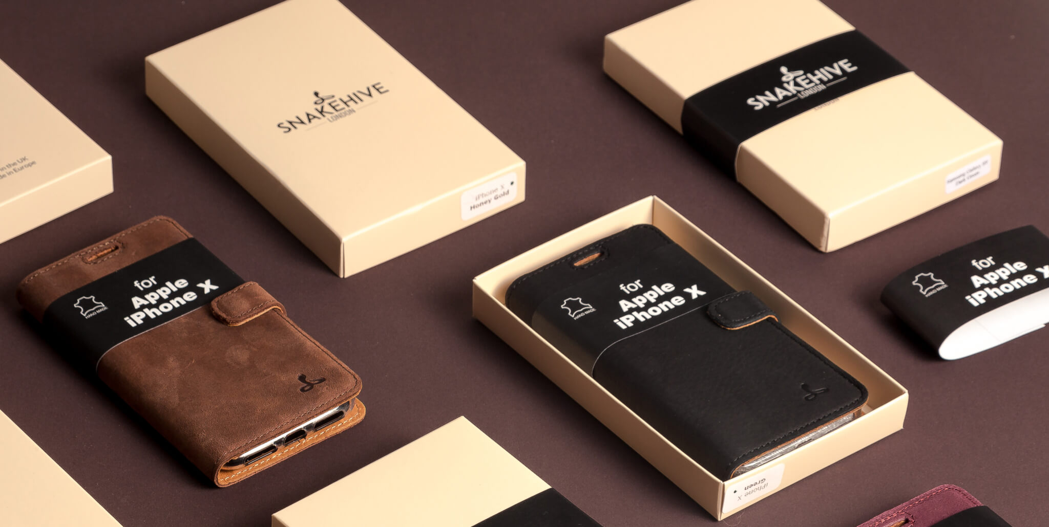 snakehive pudełka personalizowane