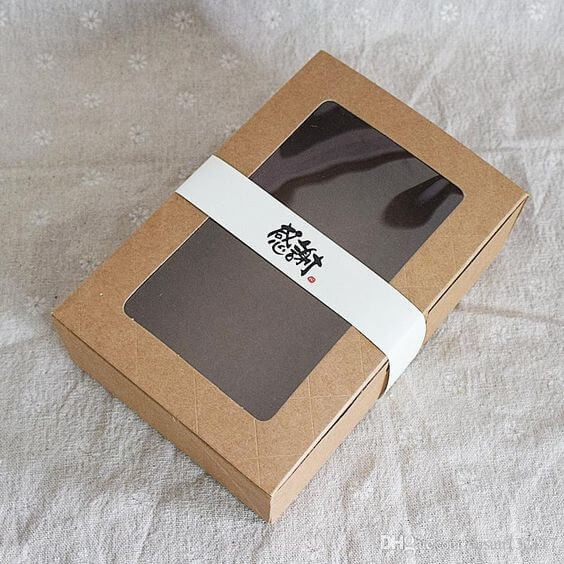 ventana en el packaging