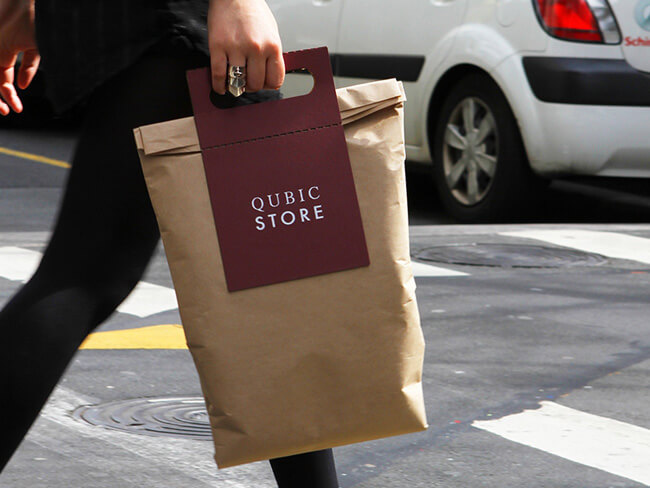 experience-driven packaging by qubic store