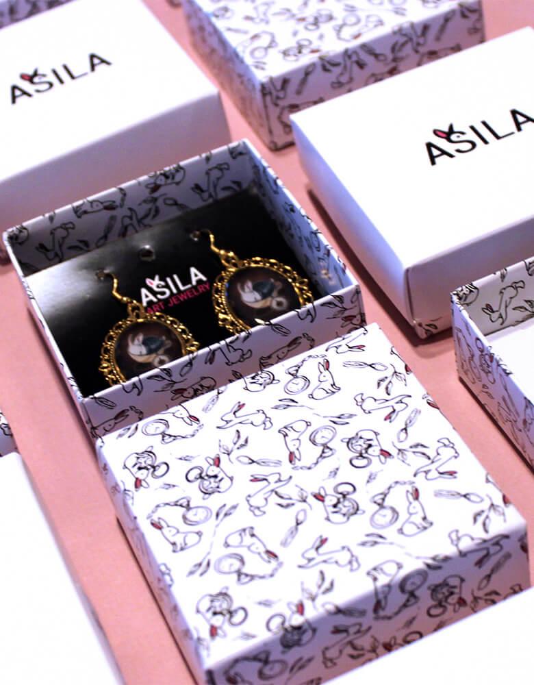 produktové obaly Asila vlastní rozměr