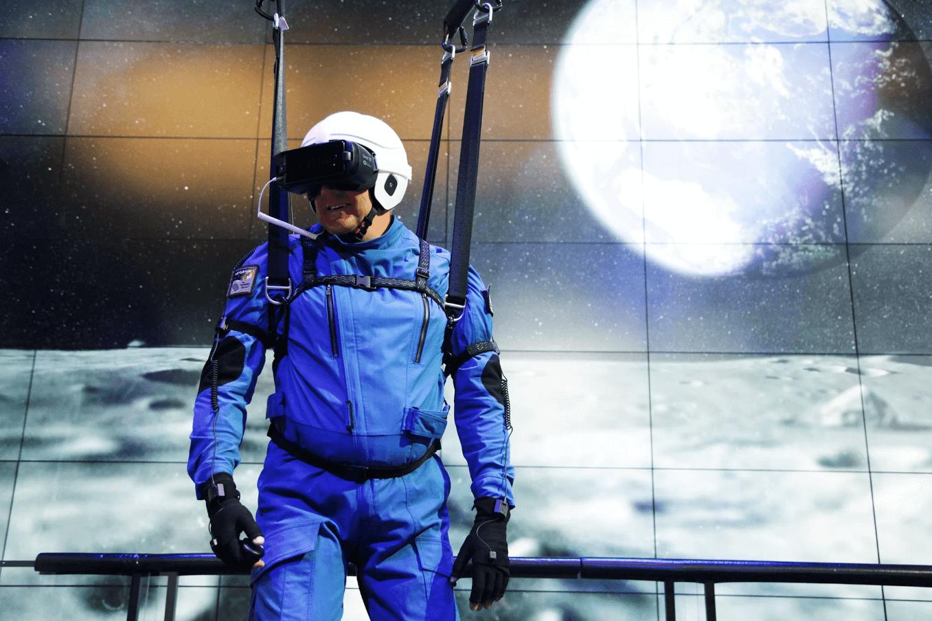 Lunettes VR de Samsung pour marcher sur la lune
