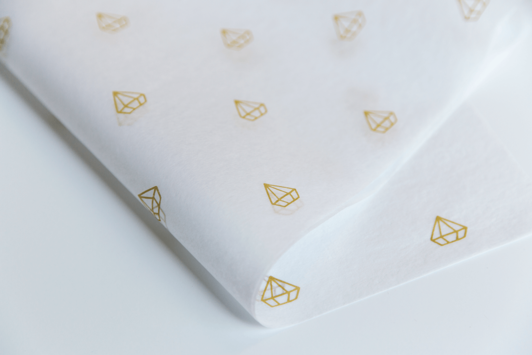 tissue paper with logo