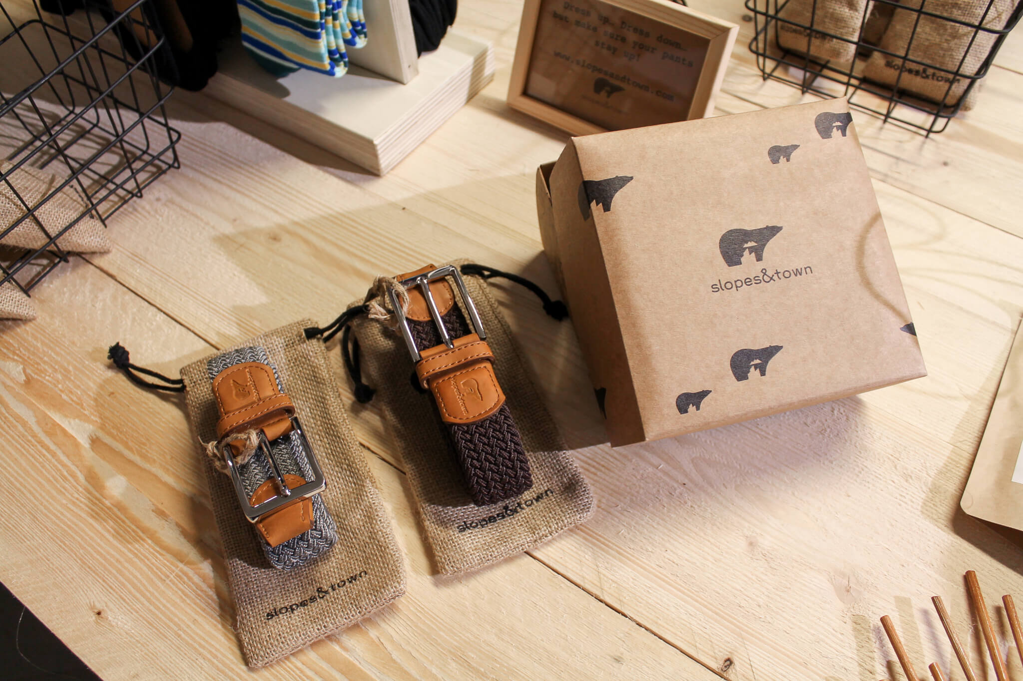 Slopes & Town packaging