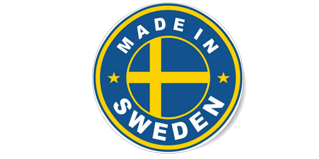 made in sweden logo