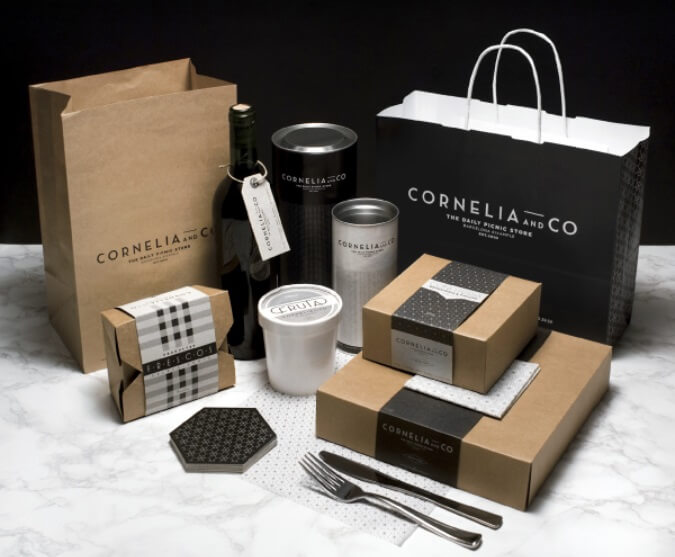 El color negro se utiliza para lograr un buen diseño de packaging