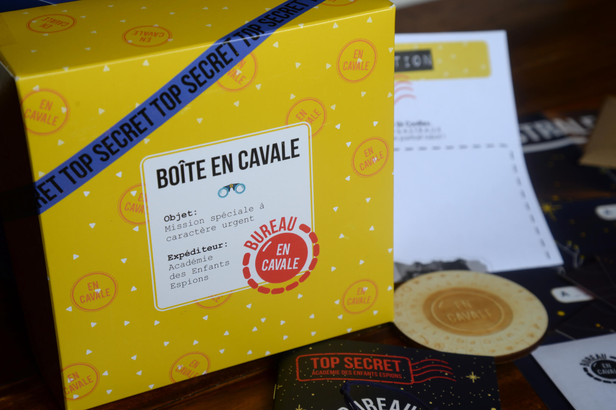 packaging of En Cavale