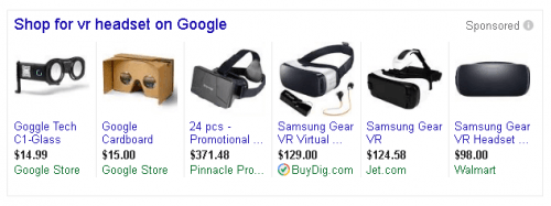 google shopping mistakes