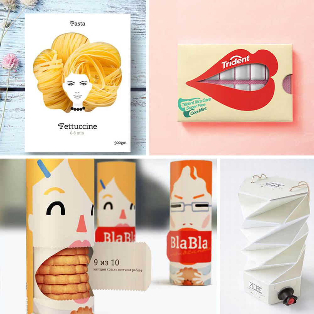 Designs d'emballage innovants
