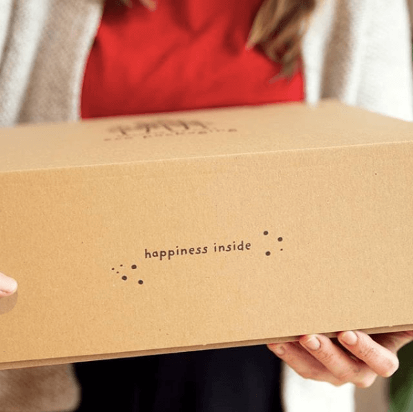 cajas para regalos - caja de cartón con impresión