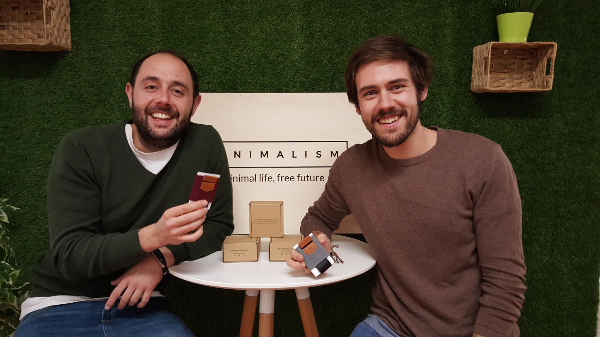 Die Verpackung von Minimalism Brand
