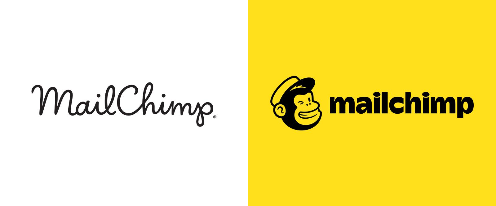 La refonte visuelle de la marque Mailchimp