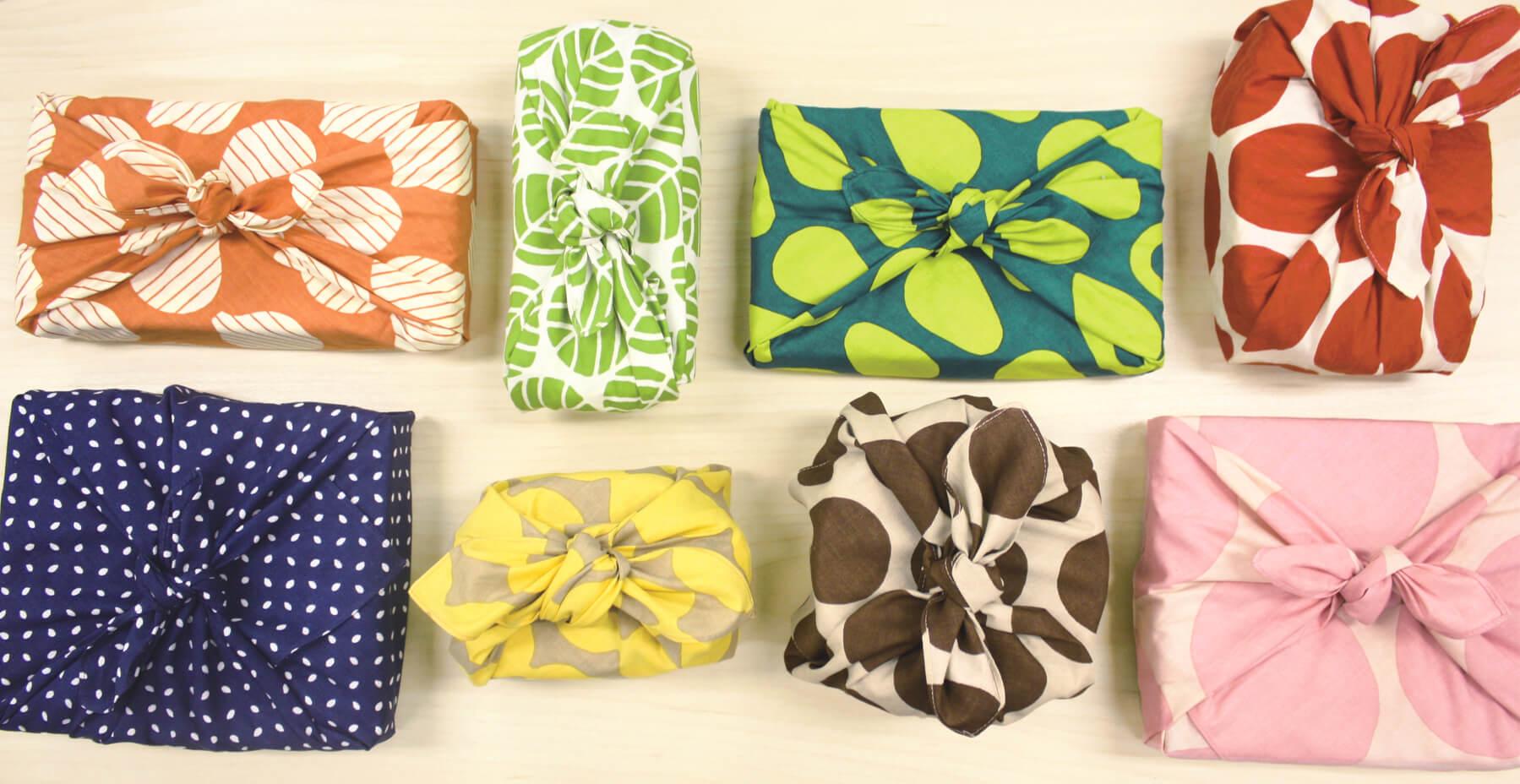Furoshiki: Japanische Geschenkverpackung aus Stoff