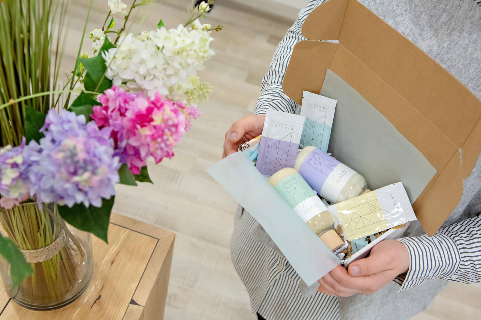 eco beauty wellness pudełka fasonowe