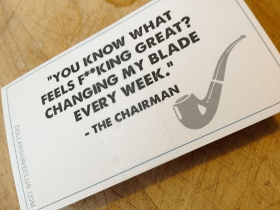 Slogan Dollar Shave Club