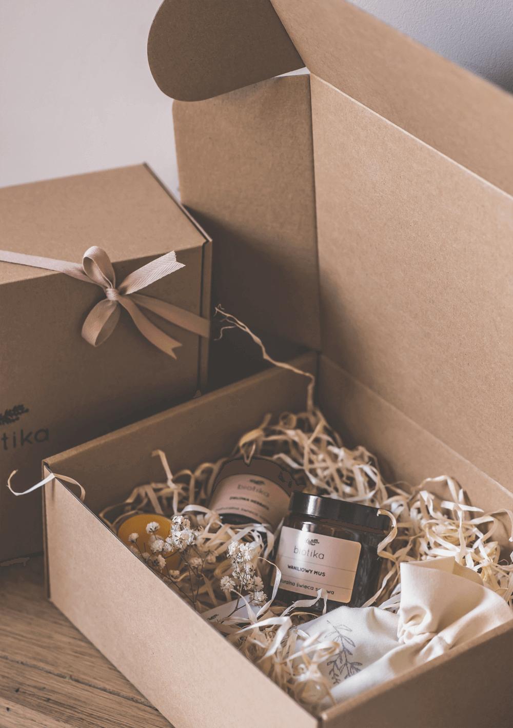 Expérience d'unboxing des produits Biotika