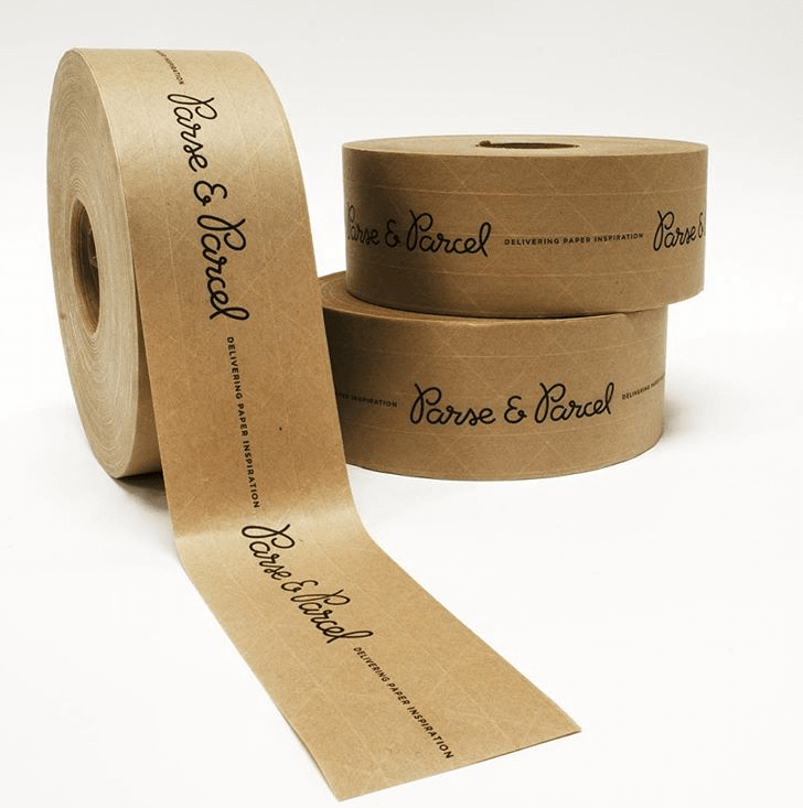 Ruban adhésif personnalisé de Parse & Parcel