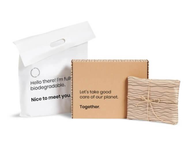 set de packaging sostenible