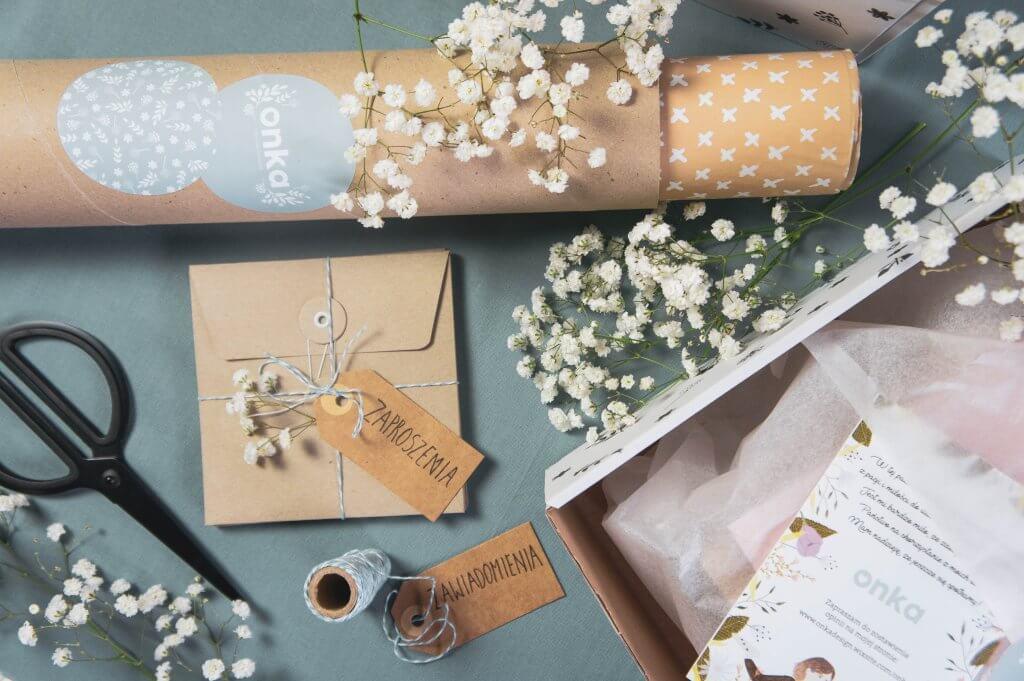 cajas decoradas de cartón de Onka