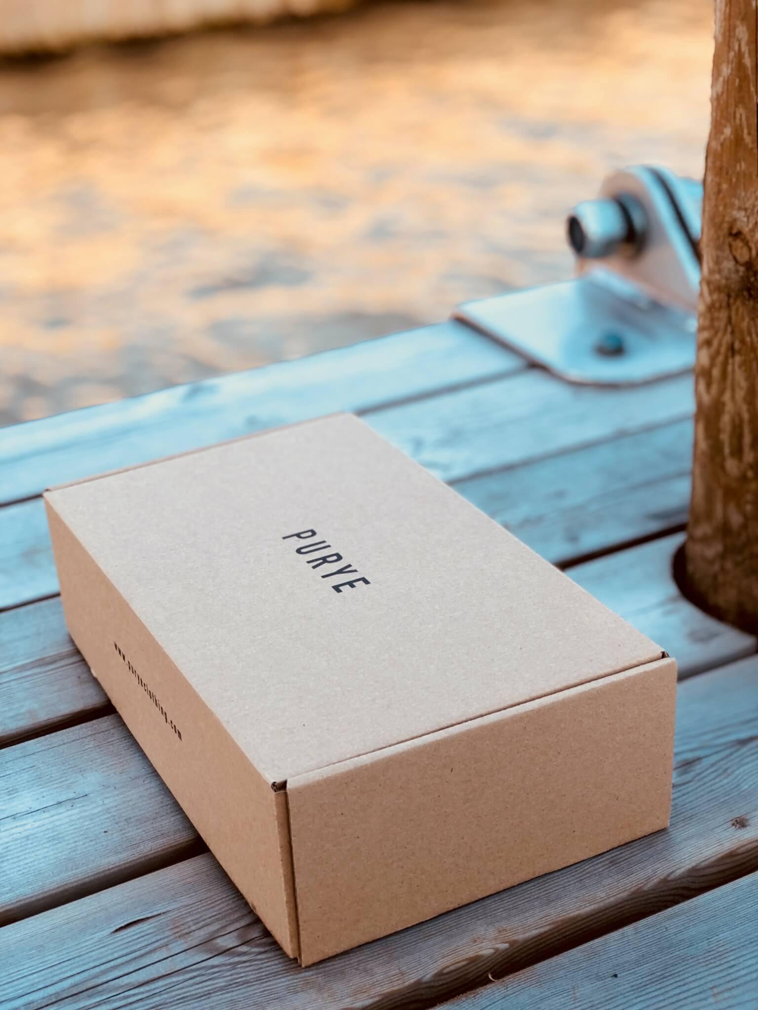caja postal de purye clothing