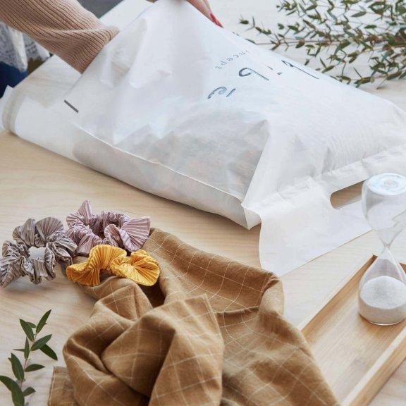 Plastové obálky kompostovatelné