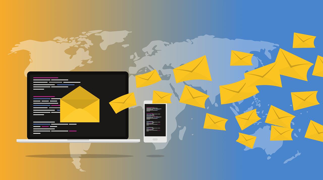D2C (modelo de venta directa) mensajes electronicos