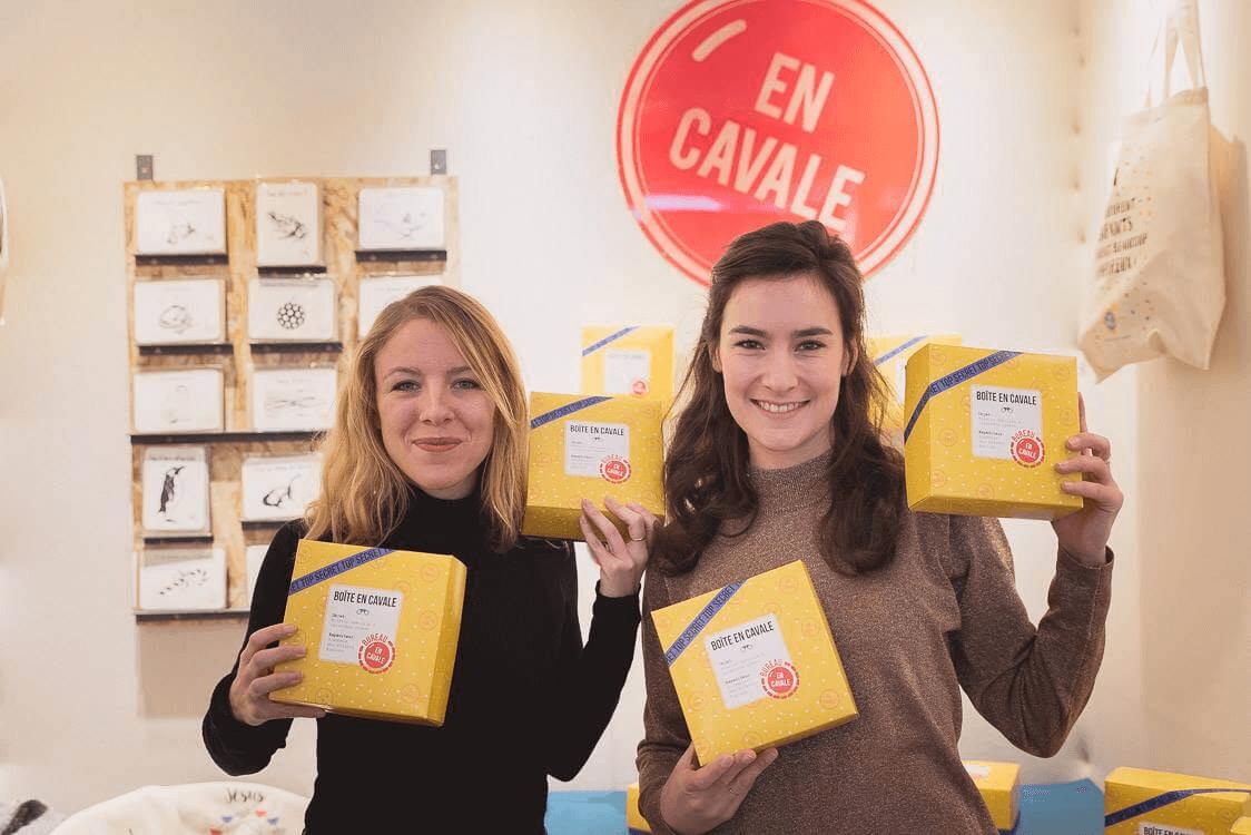 Packaging boîte-cloche de la marque En Cavale