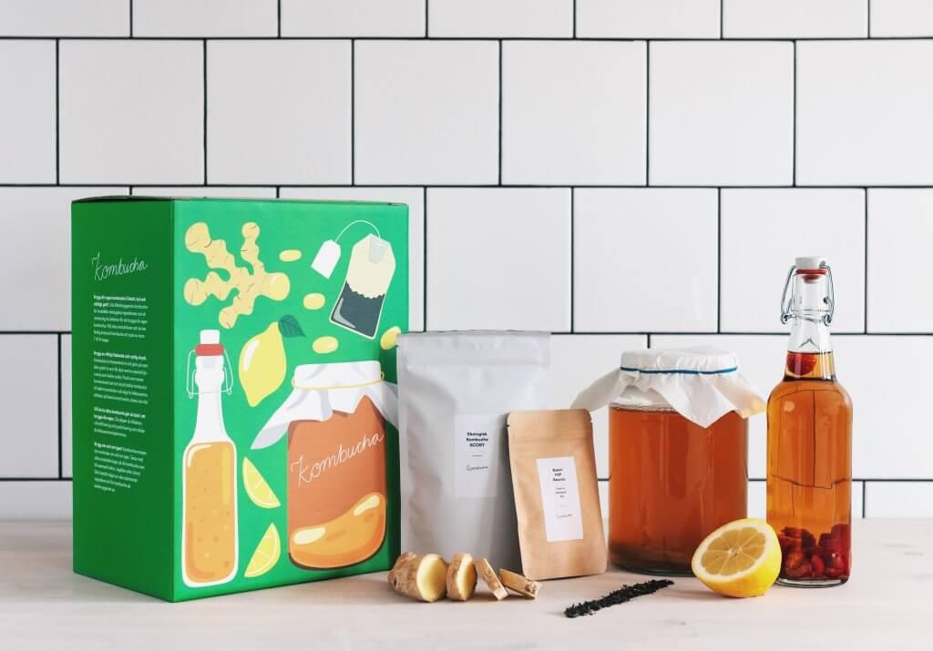 Verpackungsdesign für Flaschen Köksbryggeriet